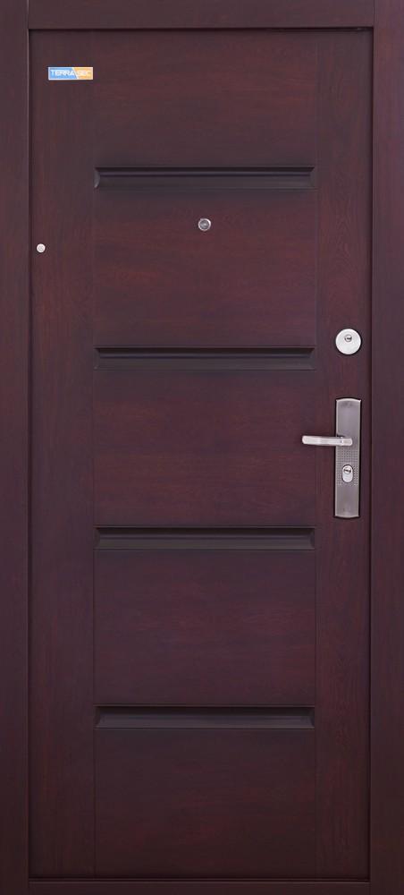 TerraSec sötét cseresznye biztonsági bejárati ajtó