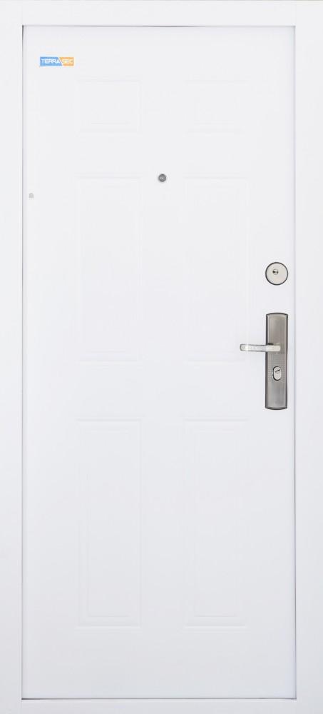 TerraSec fehér biztonsági bejárati ajtó