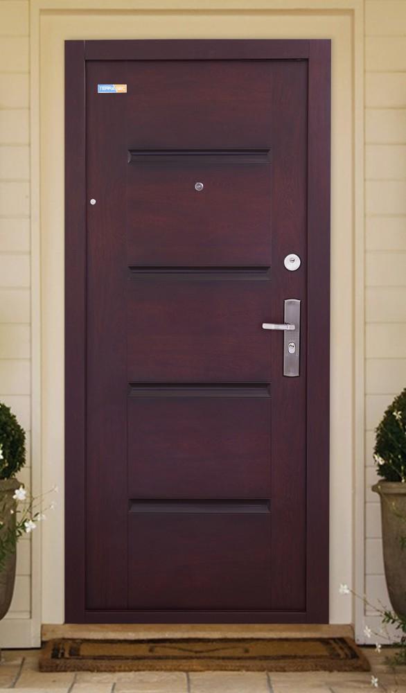 TerraSec cseresznye kültéri biztonsági bejárati ajtó
