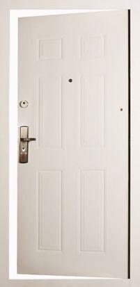 Minőségi biztonsági ajtó fehér