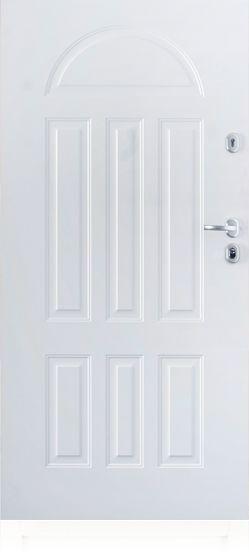 Fehér Gerda TT kültéri biztonsági ajtó